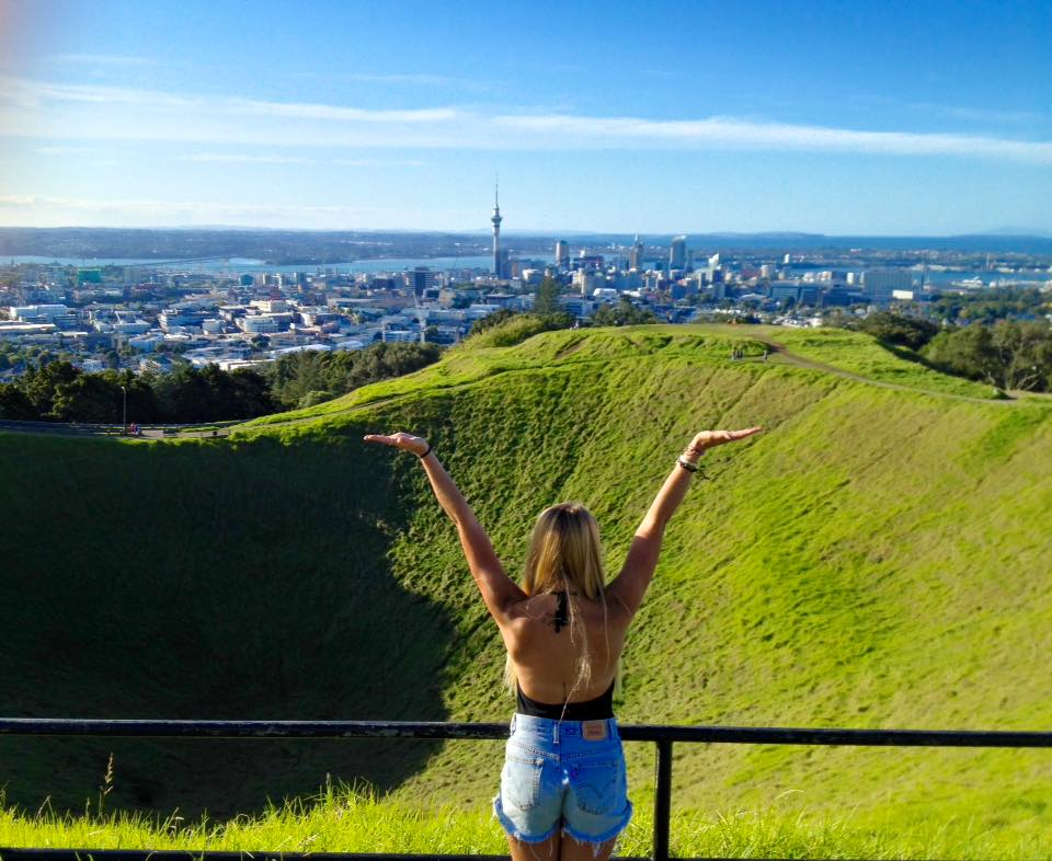Auckland view from Mount Eden