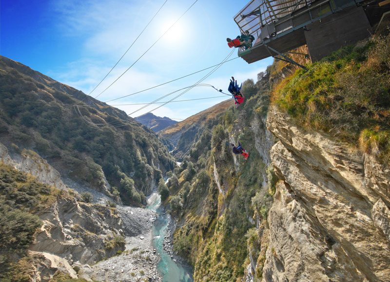 TNZ HJH Queenstown Shotover Canyon Swing 800