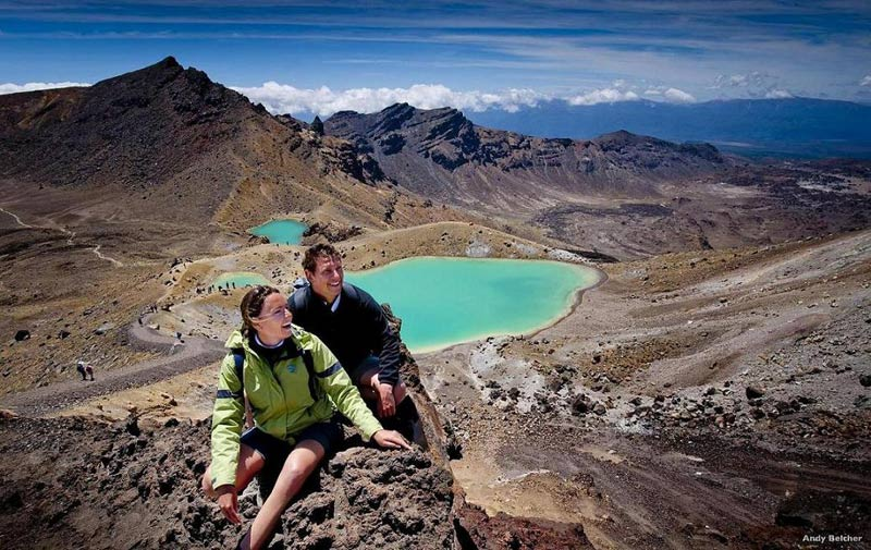 Emerald Lakes, Tongariro Crossing (Foto: ANZ Nature Tours)