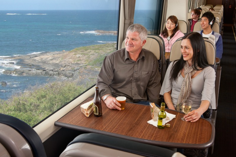 Kiwi Rail Coastal Pacific Interior