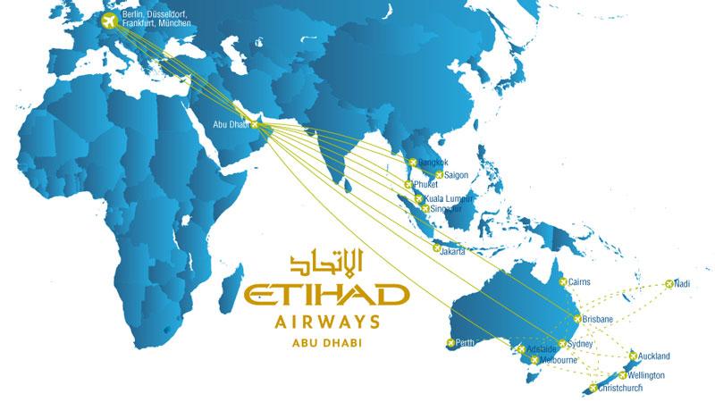 18-Monats-Ticket Etihad Airways - Neuseeland.Reisebine.de