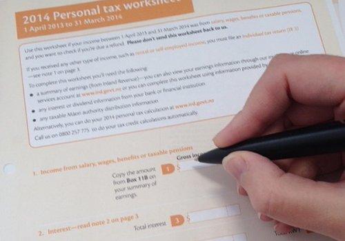 Steuer-Rückerstattung