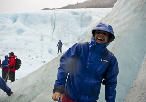Wanderung auf dem Franz Josef Gletscher