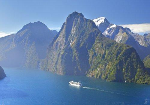 Bootstour durch den Milford Sound