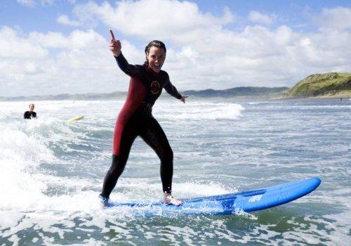 Surfkurse in Raglan
