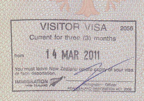 Visitor-Visa für bis zu 9 Monate Aufenthalt