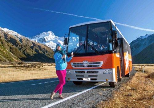 Hop-on Hop-off Buspässe für Neuseeland